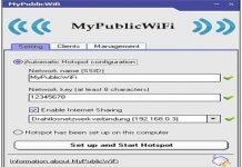 Chia sẽ Wifi một cách dễ dàng với MyPublicWifi