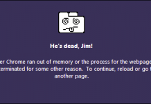 """Chống """"treo tab"""" trong trình duyệt Chrome"""