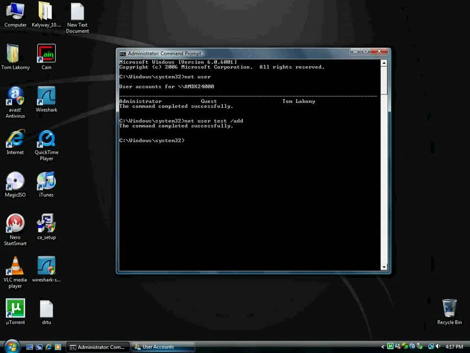 Phá máy tính với cmd, file .bat 1