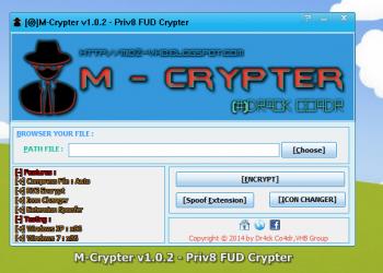 M-Crypter v1.0.3  – Công cụ giúp vượt qua  Antivirus 1
