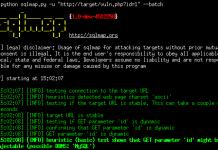 Hướng dẫn sử dụng SQLMap 2