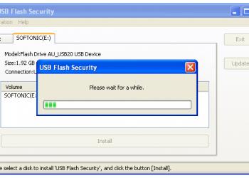 Bảo mật USB với ứng dụng USB Flash Security