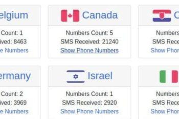 Tổng hợp các Website nhận SMS Online để xác nhận tài khoản 2