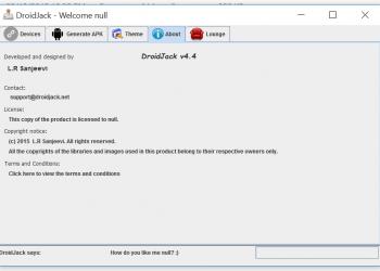 DroidJack v4.4 - Công cụ dùng để Hack thiết bị Android 3