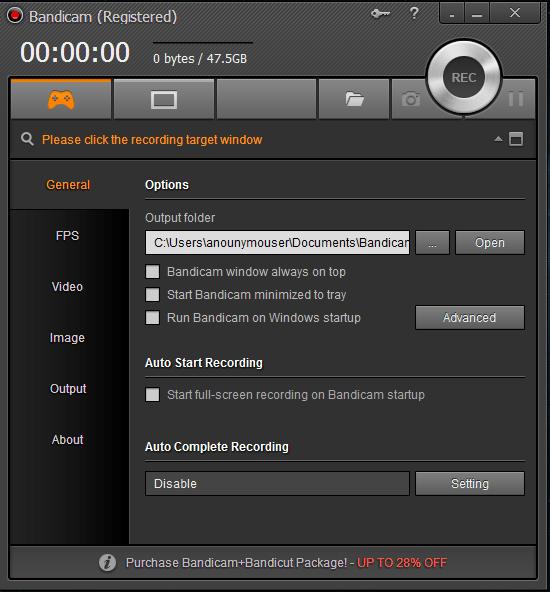 1 13 - Bandicam 3.0.2.1014 - Quay hình màn hình máy tính và game với chất lượng cao