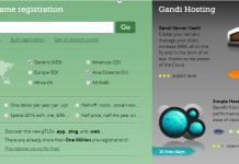 Gandi đang khuyến mãi Domain giá 1$ 2