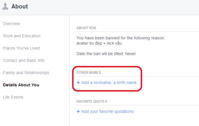 2 10 - List đặt tên phụ độc đáo cho Facebook