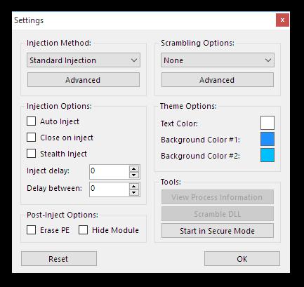 3 8 - Extreme Injector v3.6.1 - Công cụ tiêm DLL vào tiến trình đang hoạt động