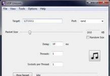 Tool DDOS đánh sập quán Net trong 30s 1
