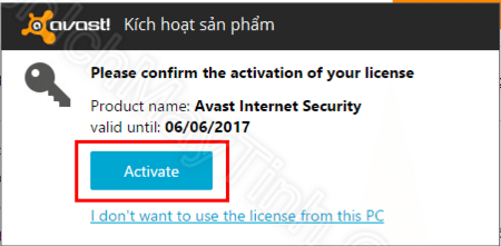 Capture 2 - Bản quyền Avast Internet Security 2016