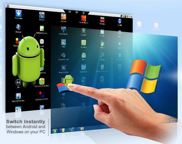 Giả lập Android trên Windows 9