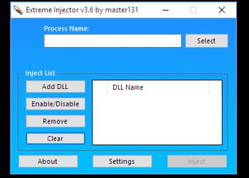 Extreme Injector v3.6.1 - Công cụ tiêm DLL vào tiến trình đang hoạt động 6