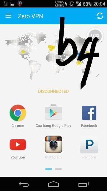 4 2 - Cách Connect Zero VPN Trên Sim Dcom 3G Viettel