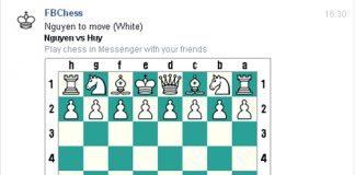Hướng dẫn Chơi cờ vua trên Facebook Chat 2