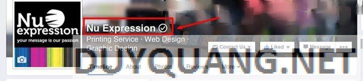 1 - Cách xác nhận Fanpage cho doanh nghiệp trên Facebook (dấu stick)