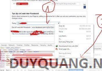 Hướng dẫn đổi tên Username cho fanpage miễn phí