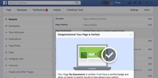 Cách xác nhận Fanpage cho doanh nghiệp trên Facebook (dấu stick) 5