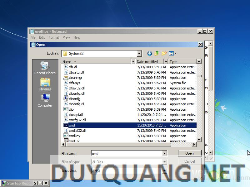 7 - Hướng dẫn Hack quyền Admin khi dùng máy tính sử dụng Windows