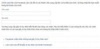 Hướng dẫn tạo Facebook ma - Facebook không tên 1