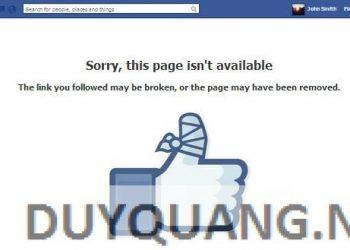 Tut RIP Facebook mạo danh xuyên Veri 2016 1