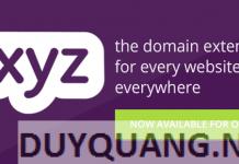 Hướng dẫn đăng ký tên miền .xyz giá 0đ (miễn phí)