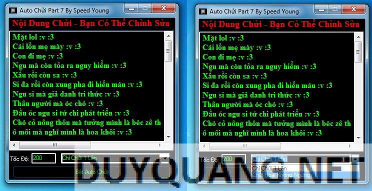 Tổng hợp Tool Auto Chửi Facebook 1