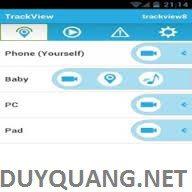 1 3 - Phần mềm theo dõi Điện Thoại Trackview