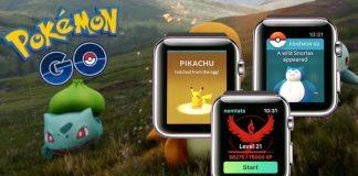 Pokemon Go Xuất Hiện Trên Apple Watch 4