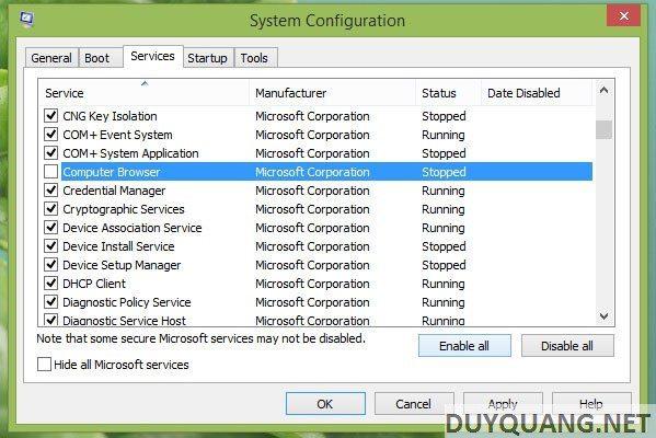 windows 6 - 9 bước tăng tốc quá trình khởi động Windows 8