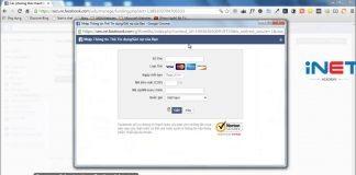 Hướng dẫn Add Visa vào Facebook Ads [10/2016]