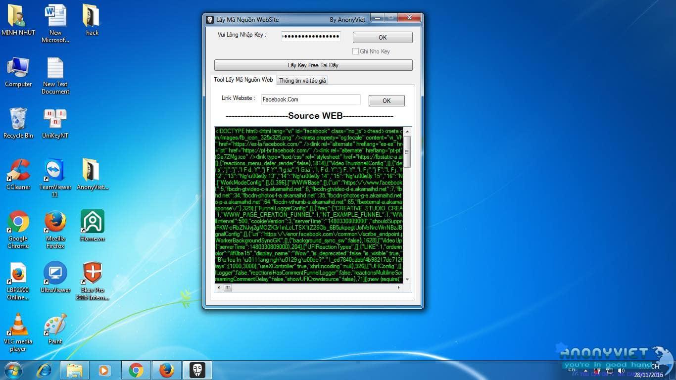 Tool Lấy Mã Nguồn Website Người Khác 3