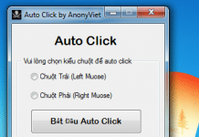 Tool Auto Click by AnonyViet