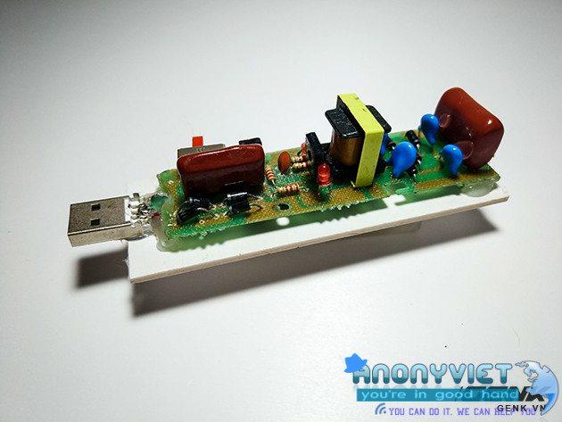 buoc21 - Cách Tạo USB Killer Có Thể Giết Máy Tính Chưa Đầy Một Giây