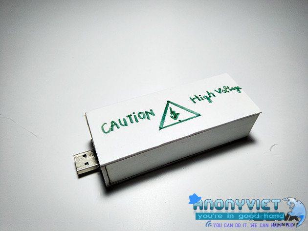 buoc23 - Cách Tạo USB Killer Có Thể Giết Máy Tính Chưa Đầy Một Giây
