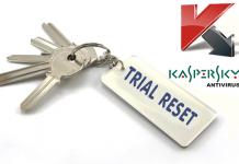 Reset Trial Thủ Công Kaspersky 5