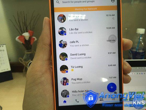 Kích hoạt các tính năng đặc biệt của Messenger 2017 2