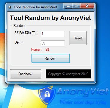 random - Tool Random Số by AnonyViet