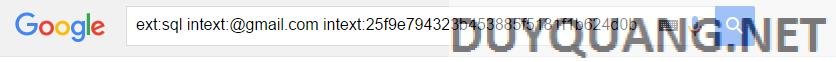 0 - Hướng dẫn hack Email bằng Google Dork