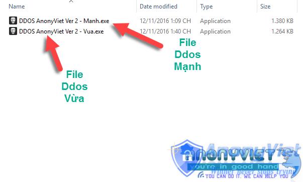 1 9 - Tool DDos AnonyViet Ver 2 cực mạnh