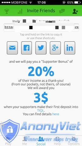 Share công thức kiếm tiền thụ động với Spark Profit 46