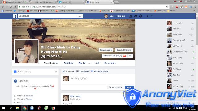 TUT Rename Tên FaceBook Siêu Dài 2017 2