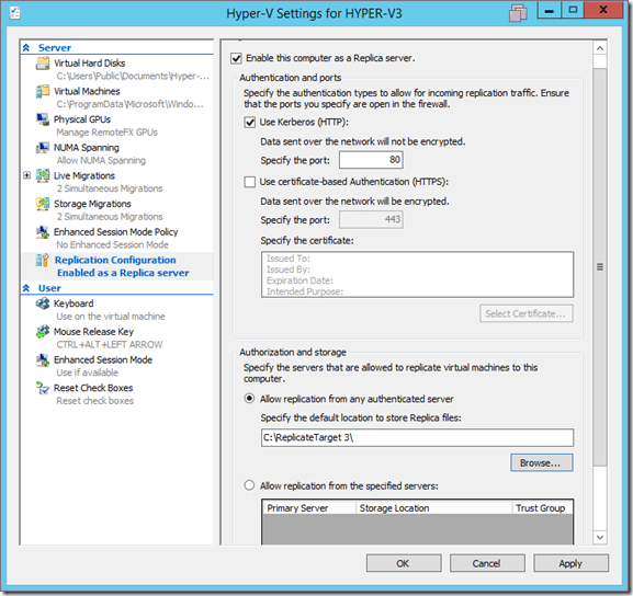 2 thumb4 1 - Hyper-V Replica Chain trong Windows Server 2012 R2