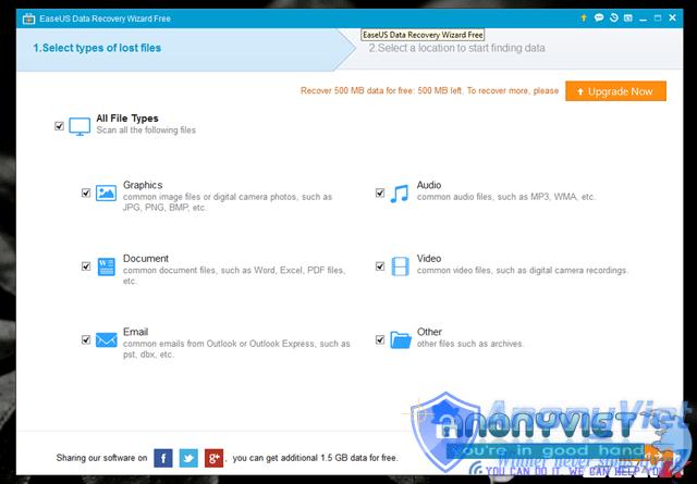 6 1476688477838 - Hướng dẫn khôi phục lại dữ liệu khi bị xóa hoặc Format
