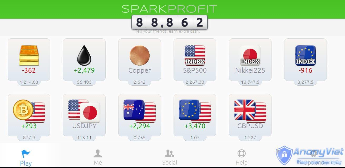 Share công thức kiếm tiền thụ động với Spark Profit 57