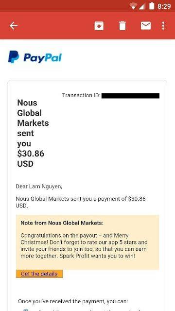 Share công thức kiếm tiền thụ động với Spark Profit 59