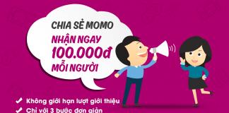Hướng dẫn nhận 130k với ví MOMO 2