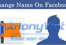 Hướng Dẫn Đổi Tên Facebook ký tự đặc biệt 2017 1