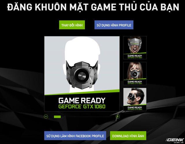 Đổi Avatar Facebook để nhận ngay card đồ họa GTX 1060 từ NVIDIA 23