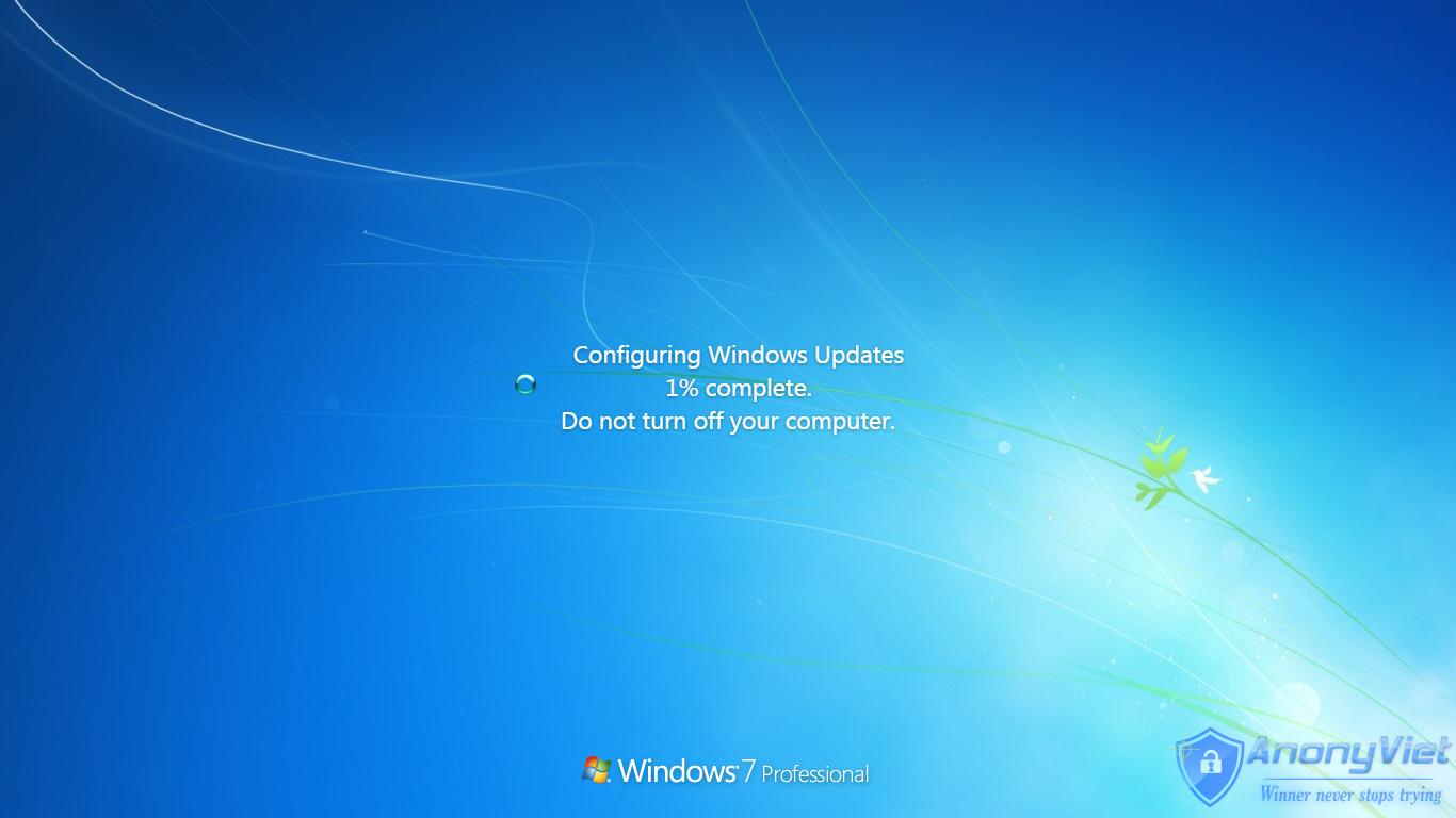 Cách Giả Update Window để troll bạn bè 12