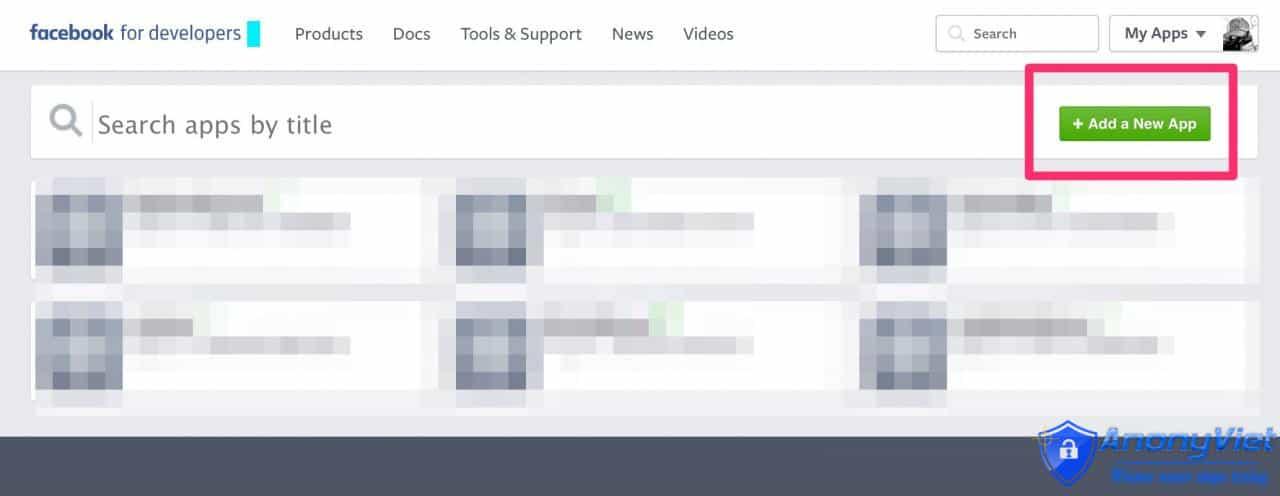 cấu hình Facebook App hoặc Page